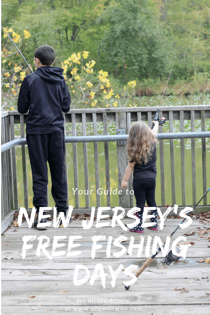Free Fishing Days in New Jersey