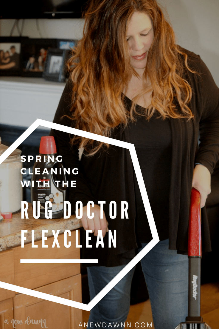 Spring Cleaning Made Easy With The New Rug Doctor Flexclean