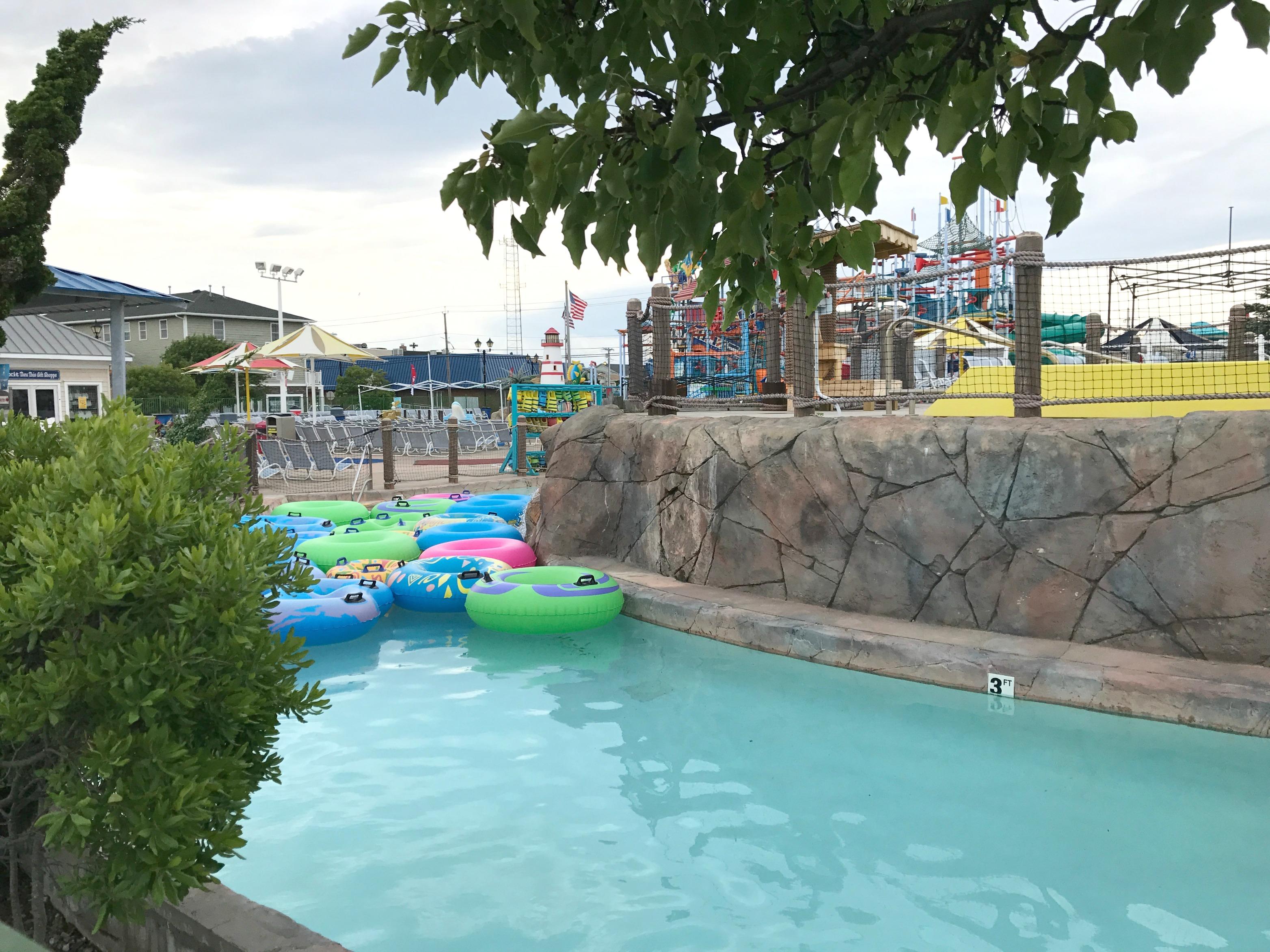 Wild River Ride at Casino Pier