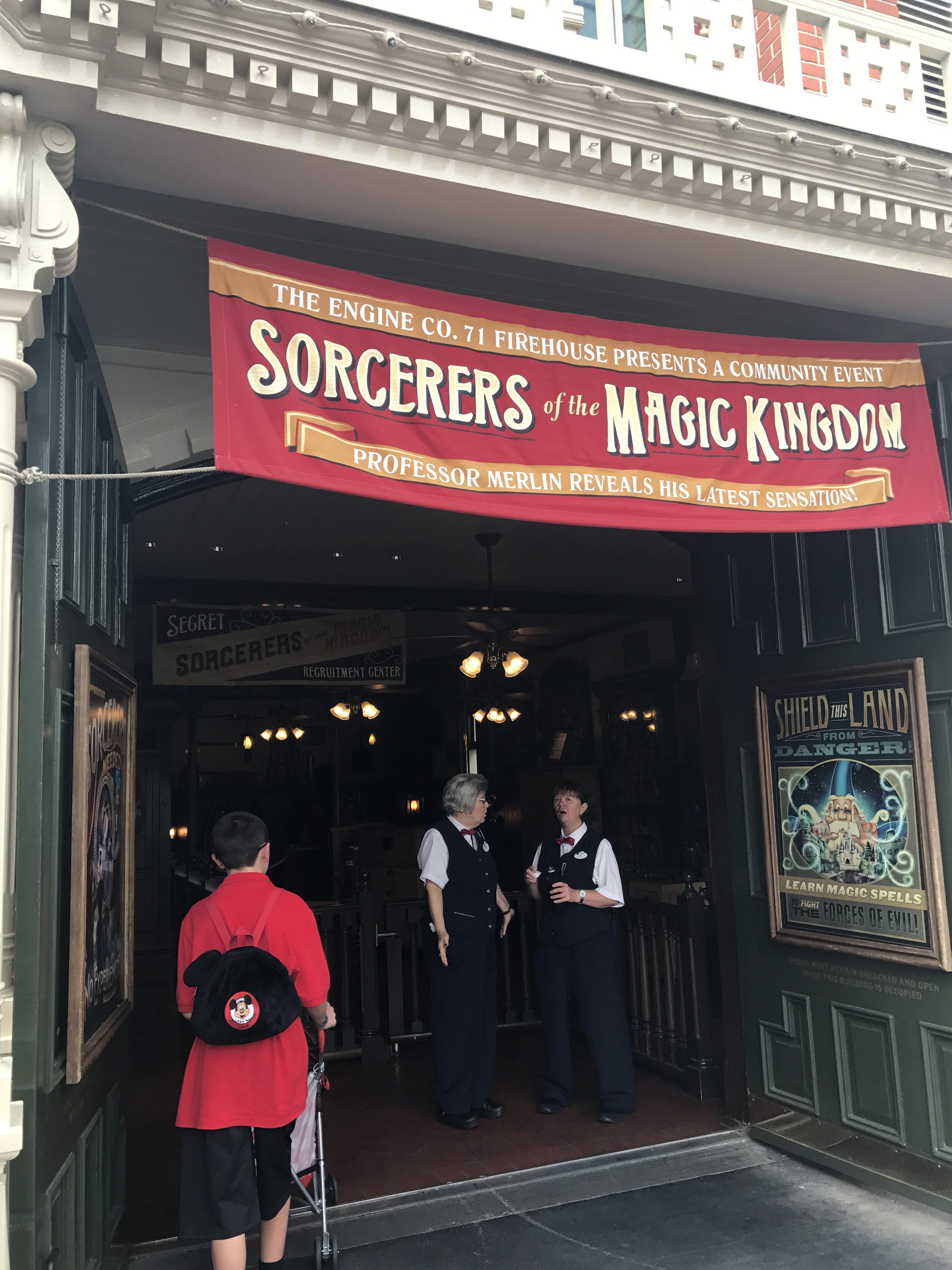 Firehouse at Disney's Magic Kingdom