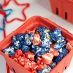 3 Ingredient Patriotic Popcorn Recipe