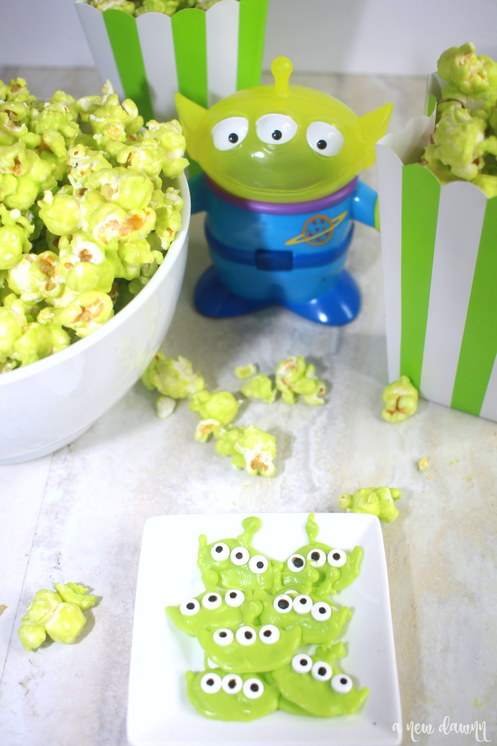 Toy Story Alien popcorn snack