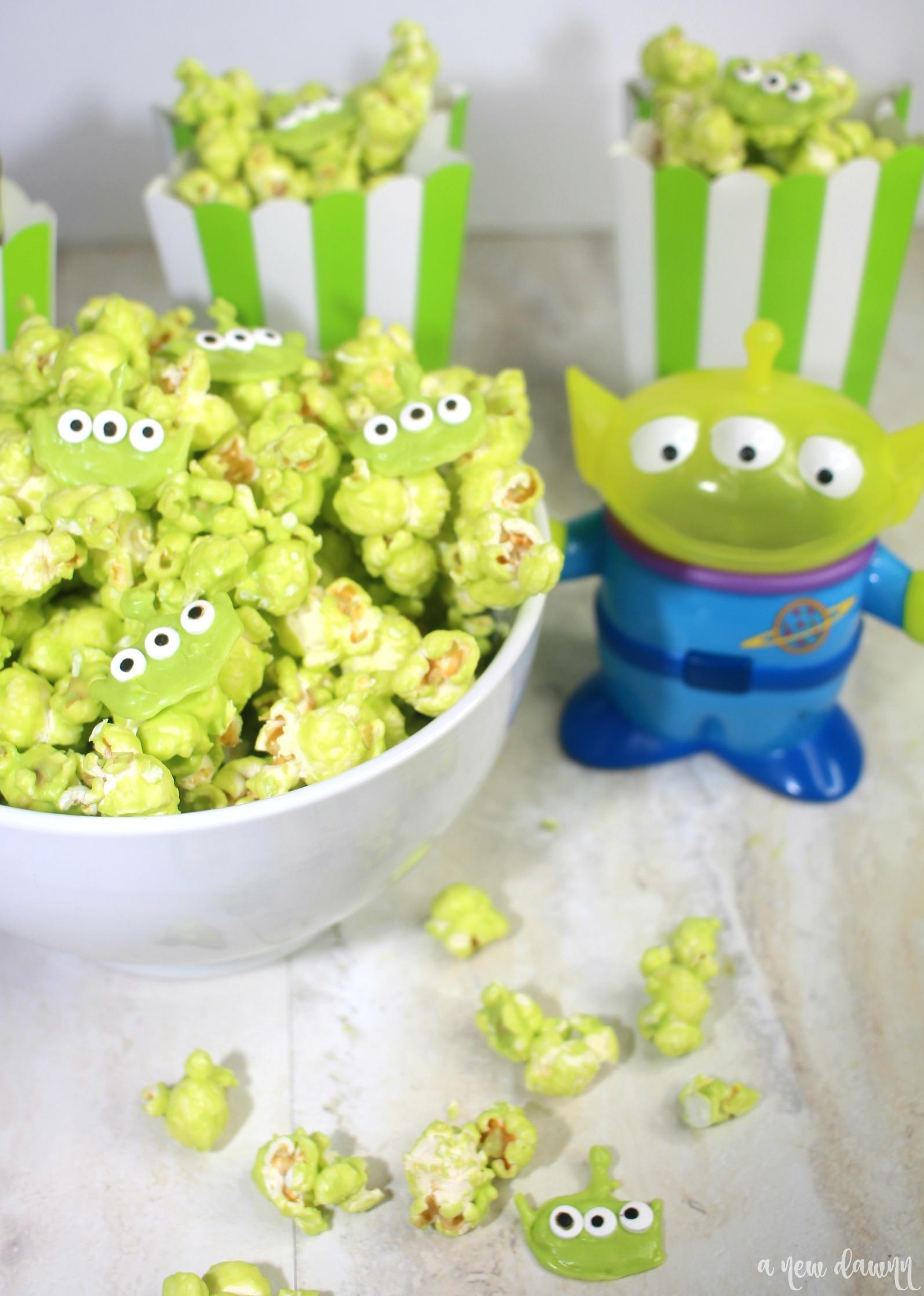green toy story popcorn