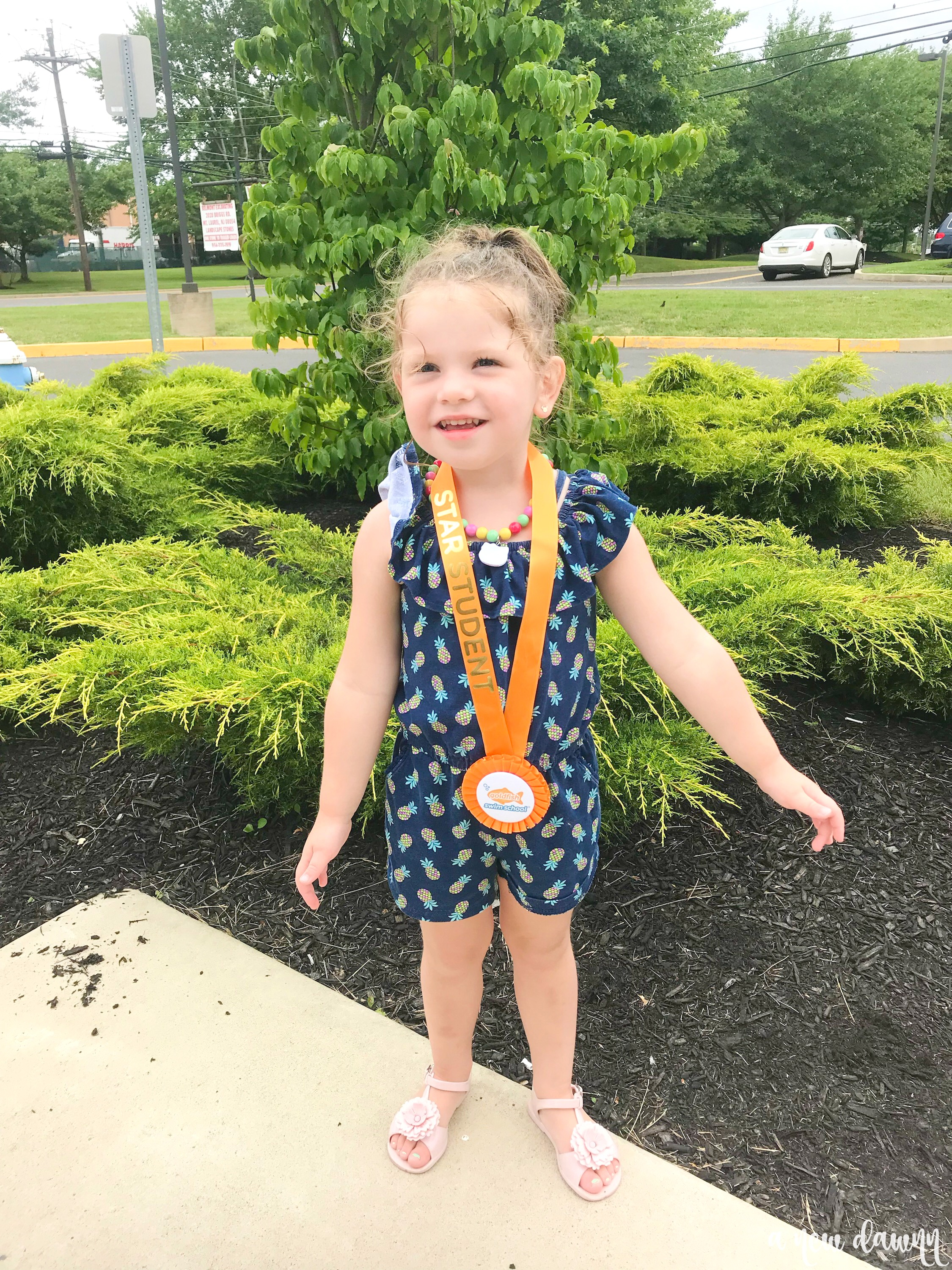 Goldfish Swim School Student of the Month