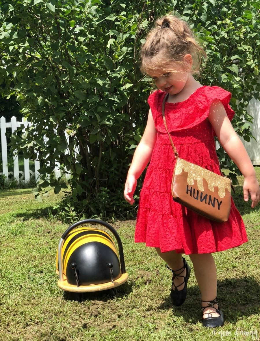 DIY Winnie the Pooh Hunny Pot Purse