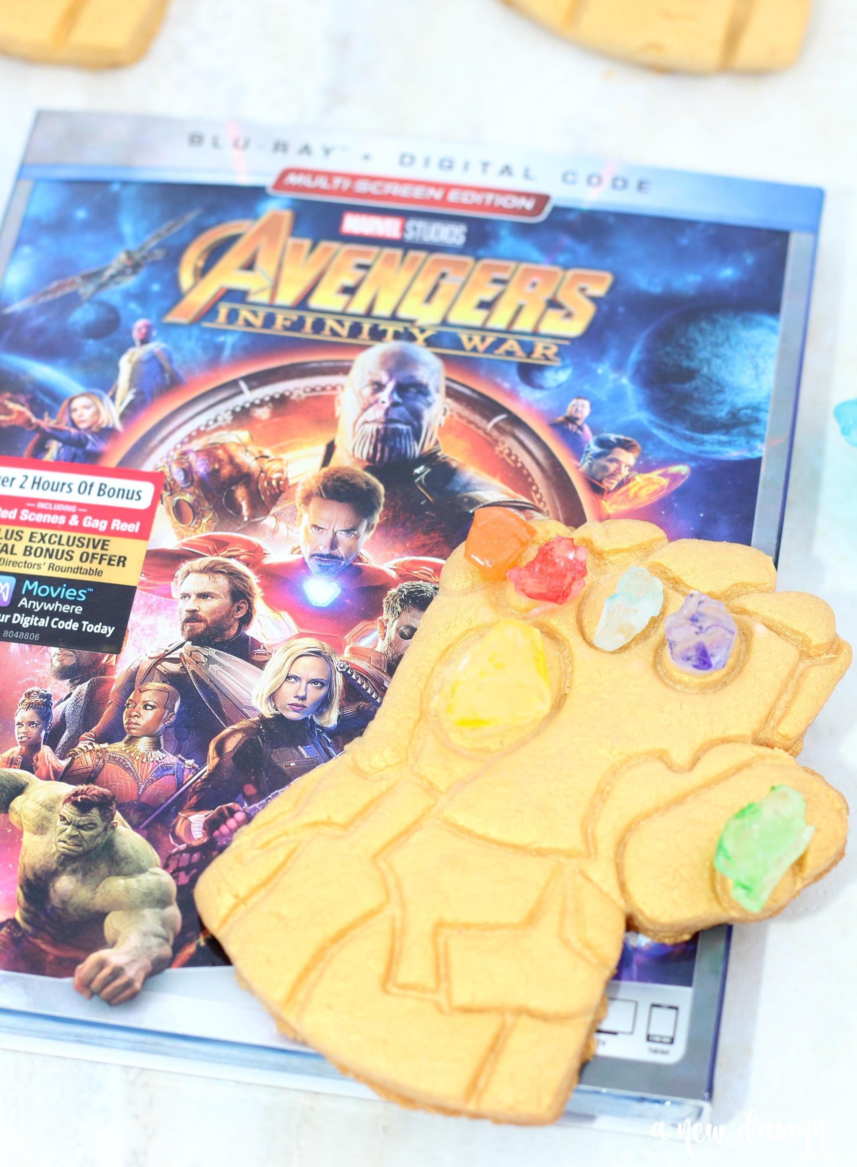 Avengers Infinity War Infinity Gauntlet Cookie Recipe
