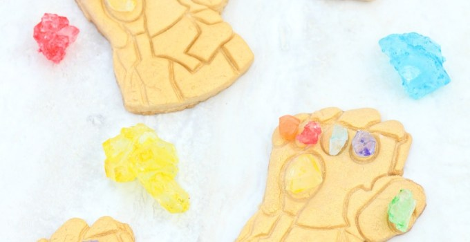 AVENGERS: INFINITY WAR Infinity Gauntlet Cookie Recipe
