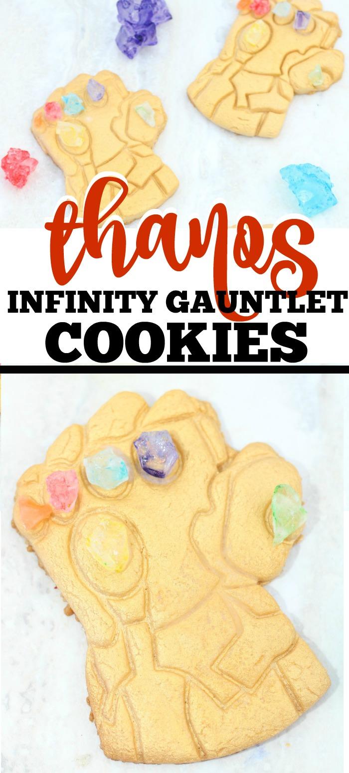 Infinity Gauntlet Cookie Recipe