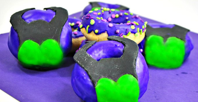 Scare up a little Disney fun this Halloween with this Maleficent Donut Recipe