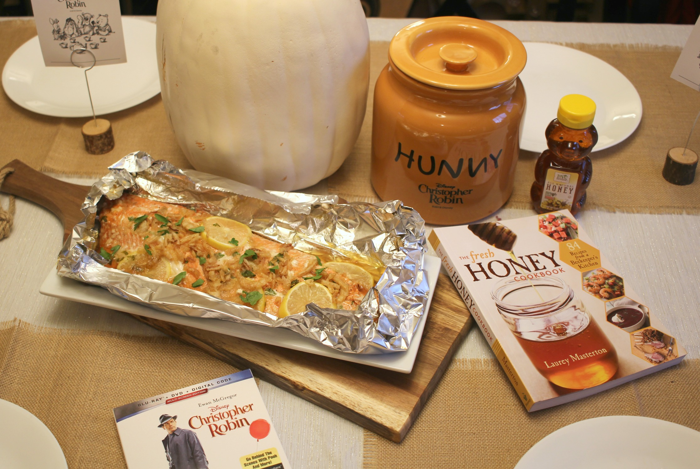 Honey Glazed Salmon
