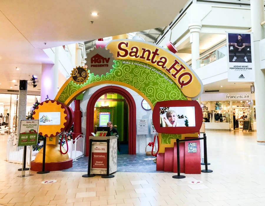 Holiday Traditions Start at  Santa HQ