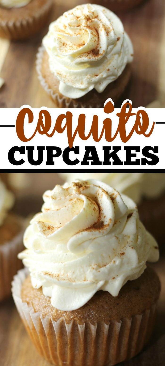 Coquito Cupcake Recipe