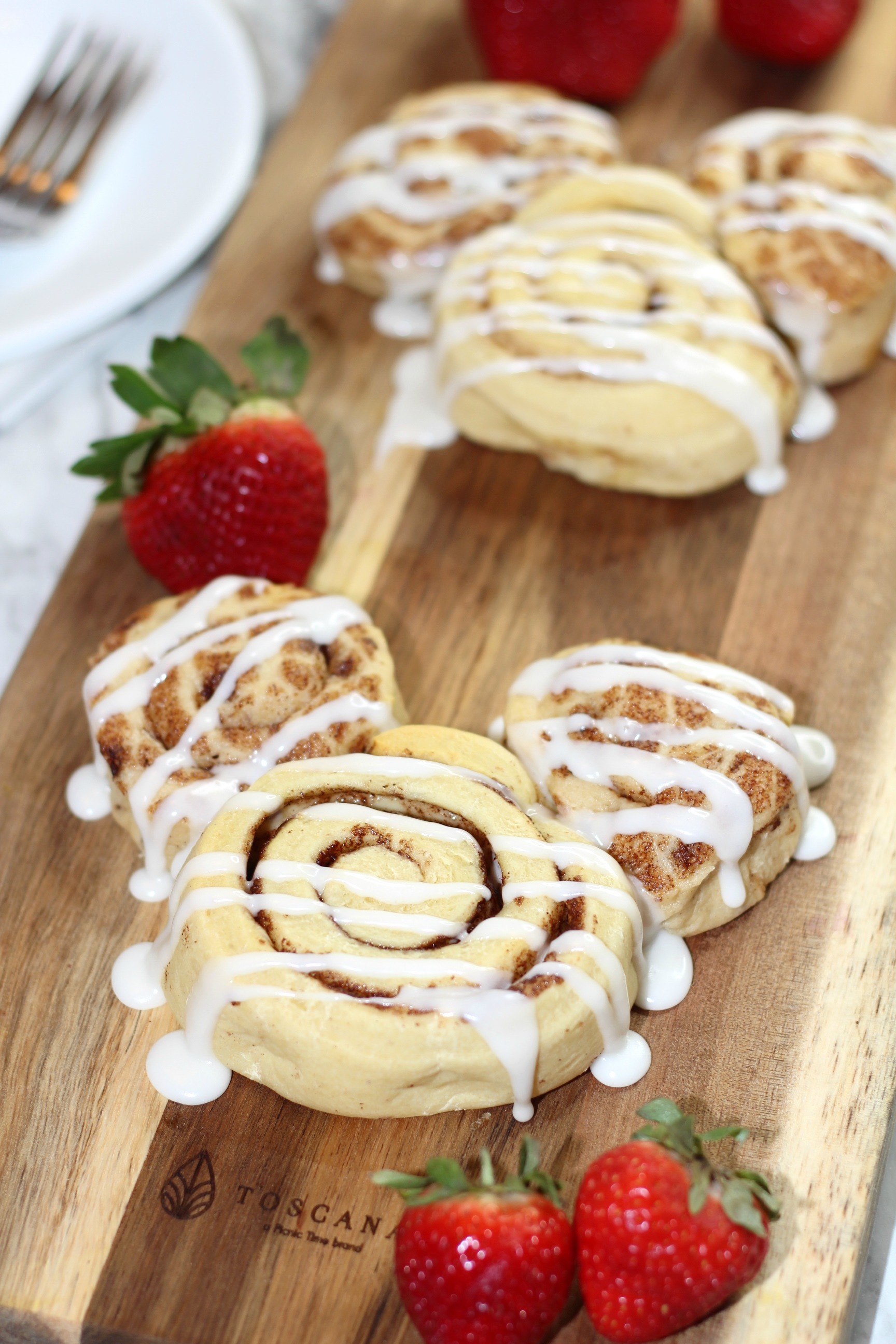 Bring a little Disney magic home with this simple Mickey Cinnamon Rolls Recipe!