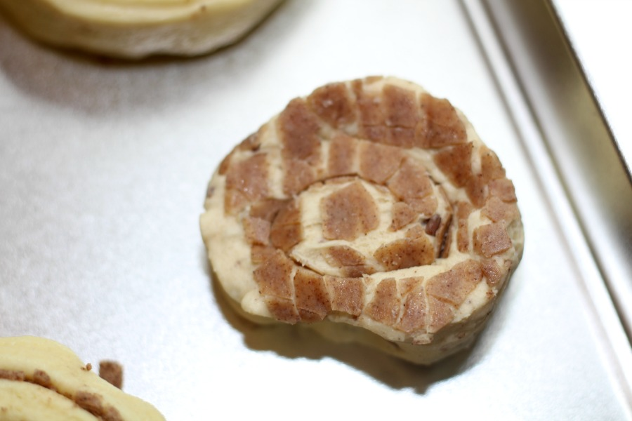 Mickey Mouse shaped Cinnamon Rolls Recipe
