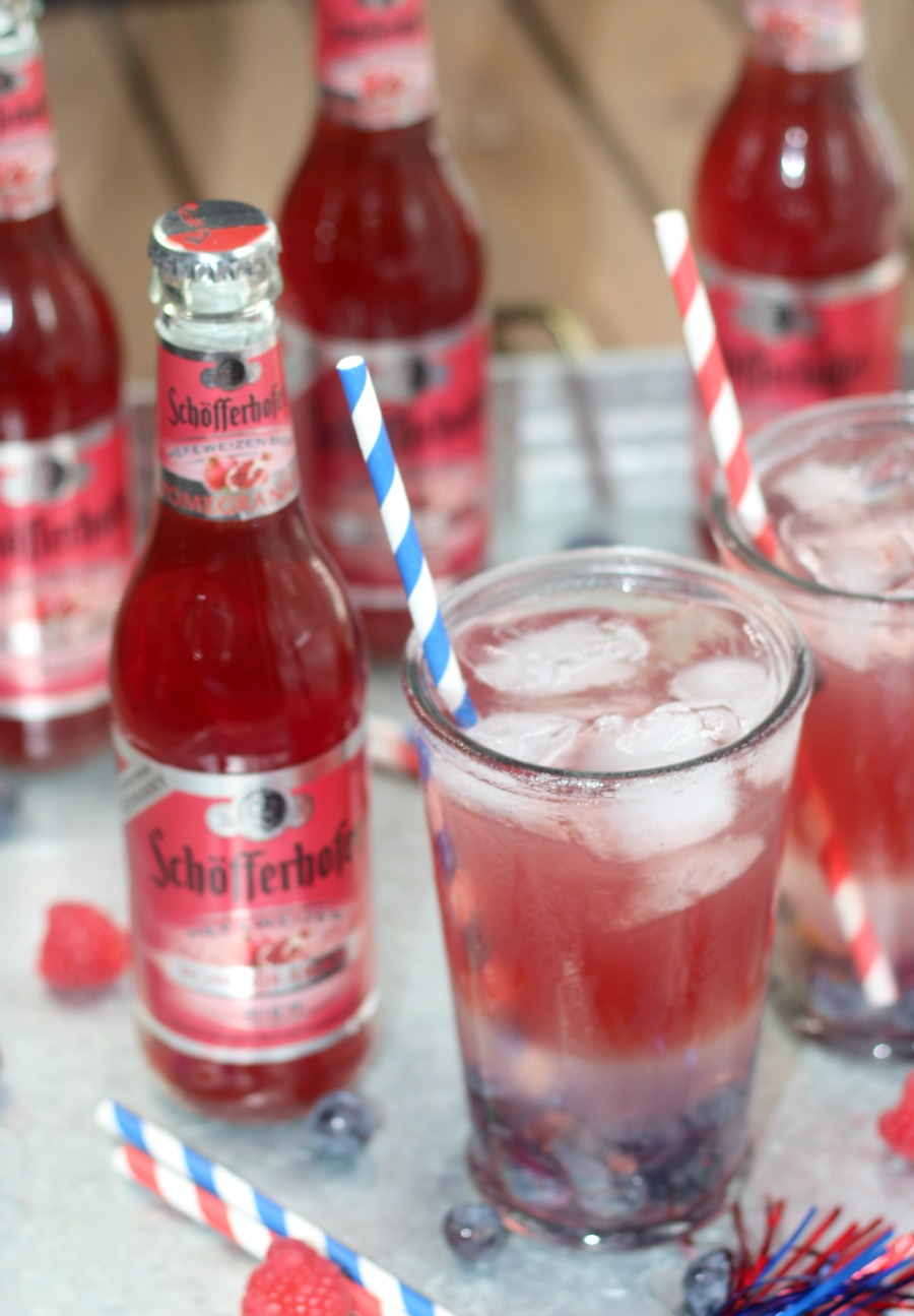 Schöfferhofer Pomegranate - Pomegranate Lemonade Cocktail