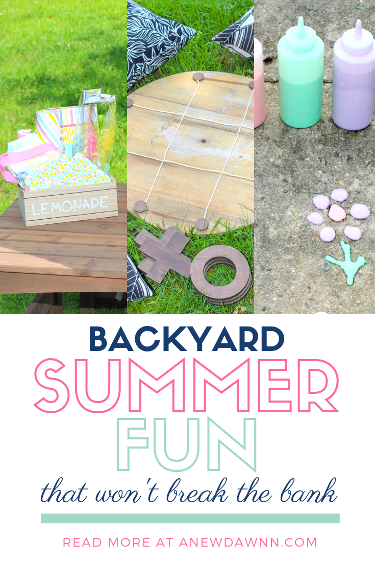 Take back summer with these fun Summer DIY that's wpn't break the bank