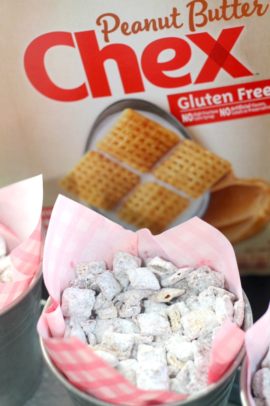 Peanut Butter Chex Double Peanut Butter Muddy Buddies Recipe