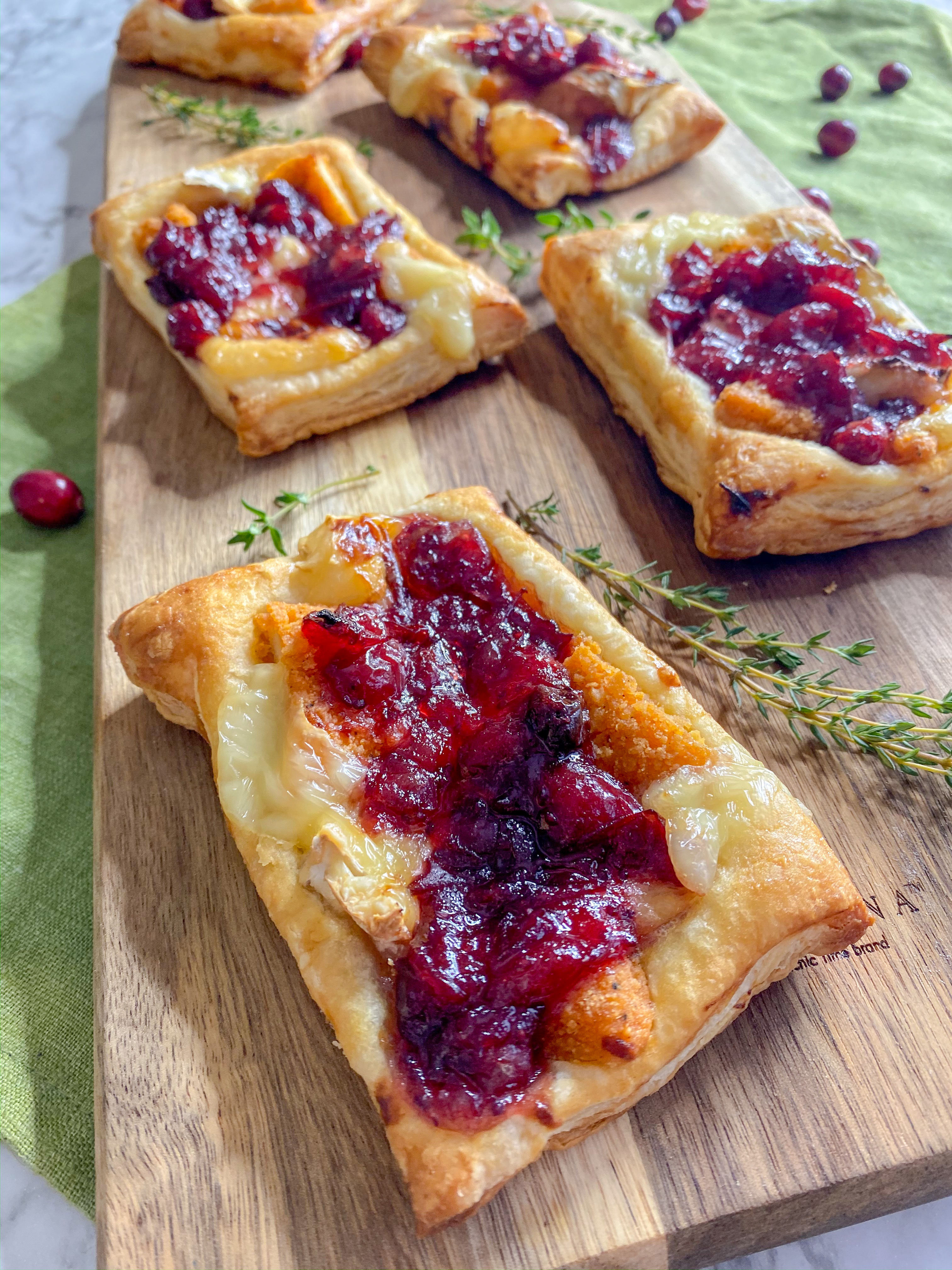 Cranberry Chicken Pockets