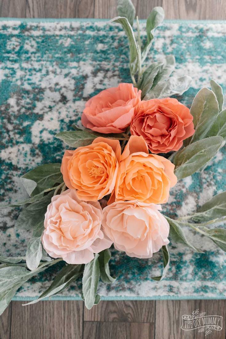 How to Make Crepe Paper Peonies with Cricut Maker