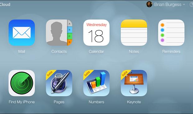 New iCloud