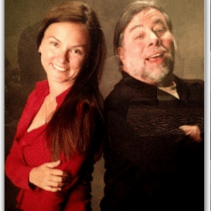 stevewozniakandginasmith