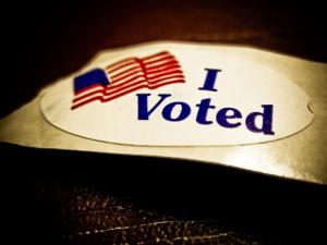 i voted election day sticker