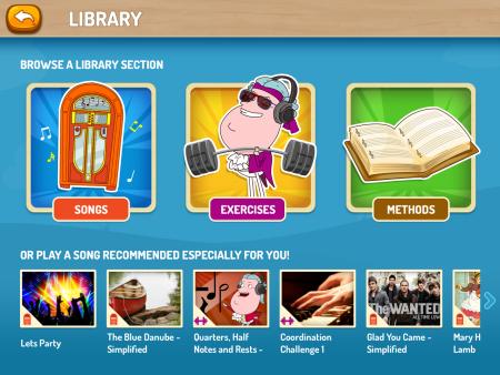 piano maestro library