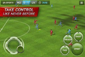 FIFA 15 Ultimat Team controls
