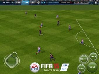 FIFA 15 Ultimat Team gameplay