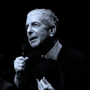 Leonard Cohen first image