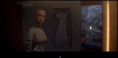 ex machina nudity