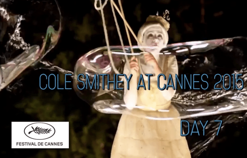 cole smithey cannes film festival 2015 day seven