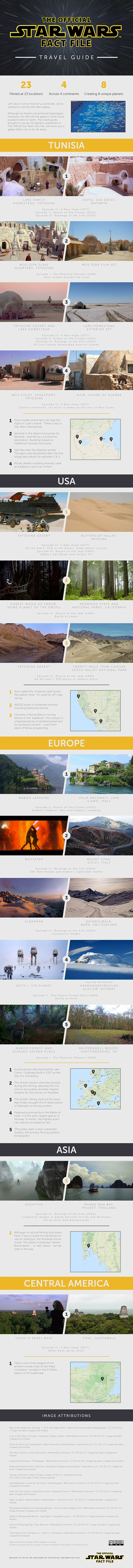 star wars day 2015 star wars travel guide infographic