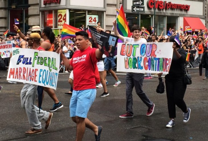 new york city pride parade 2015 our work continues