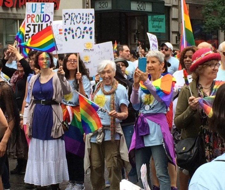 new york city pride parade 2015 proud moms