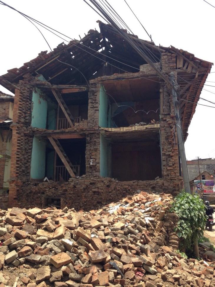 Kathmandu house quake MPOWERD