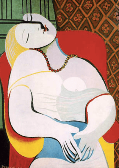 picasso le reve what if all you had to do was paint naked women