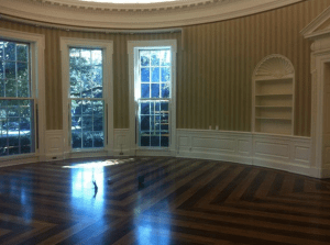 empty oval office
