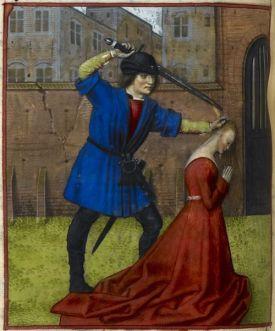 beheading midevil