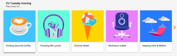 google play music stations