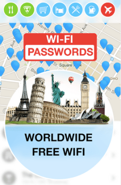WiFi App for Android free travel apps to save you money