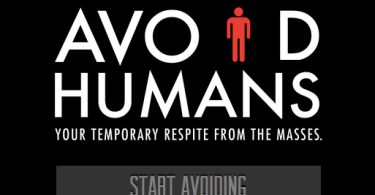 avoid humans app anti-social apps