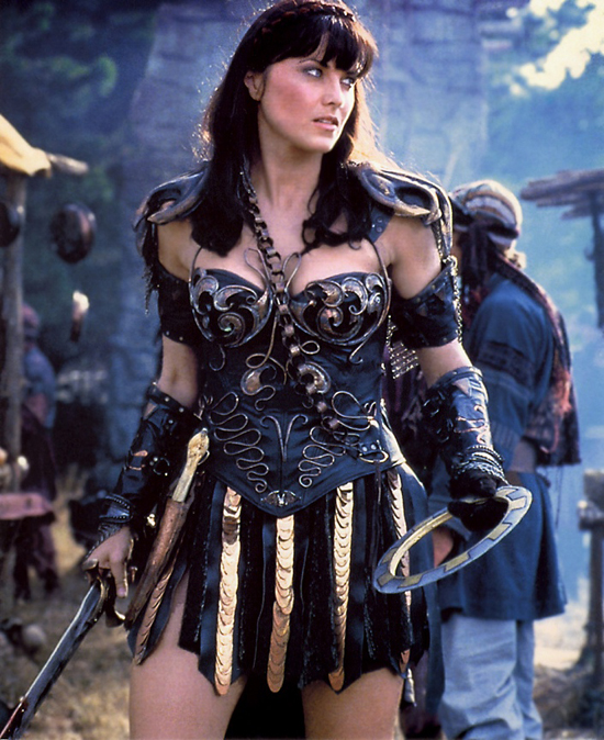 i don't care if you are xena the warrior princess it is still stupid