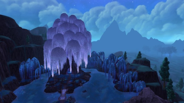 warlords of draenor Moonwillow Peak