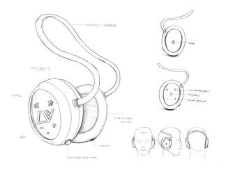 LIVV headphones design