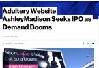 were the ashley madision ipo plans really