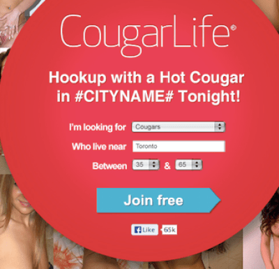 cougarlife escort service