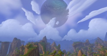 Moon over Nagrand draenor