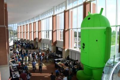 Big Android BBQ Hall