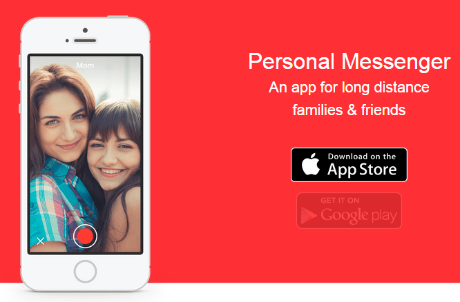 iphone app, personal messenger iphone app, personal messenger app, tech, smart phone apps